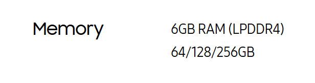 ストレージ容量に128GBと256GBも存在する