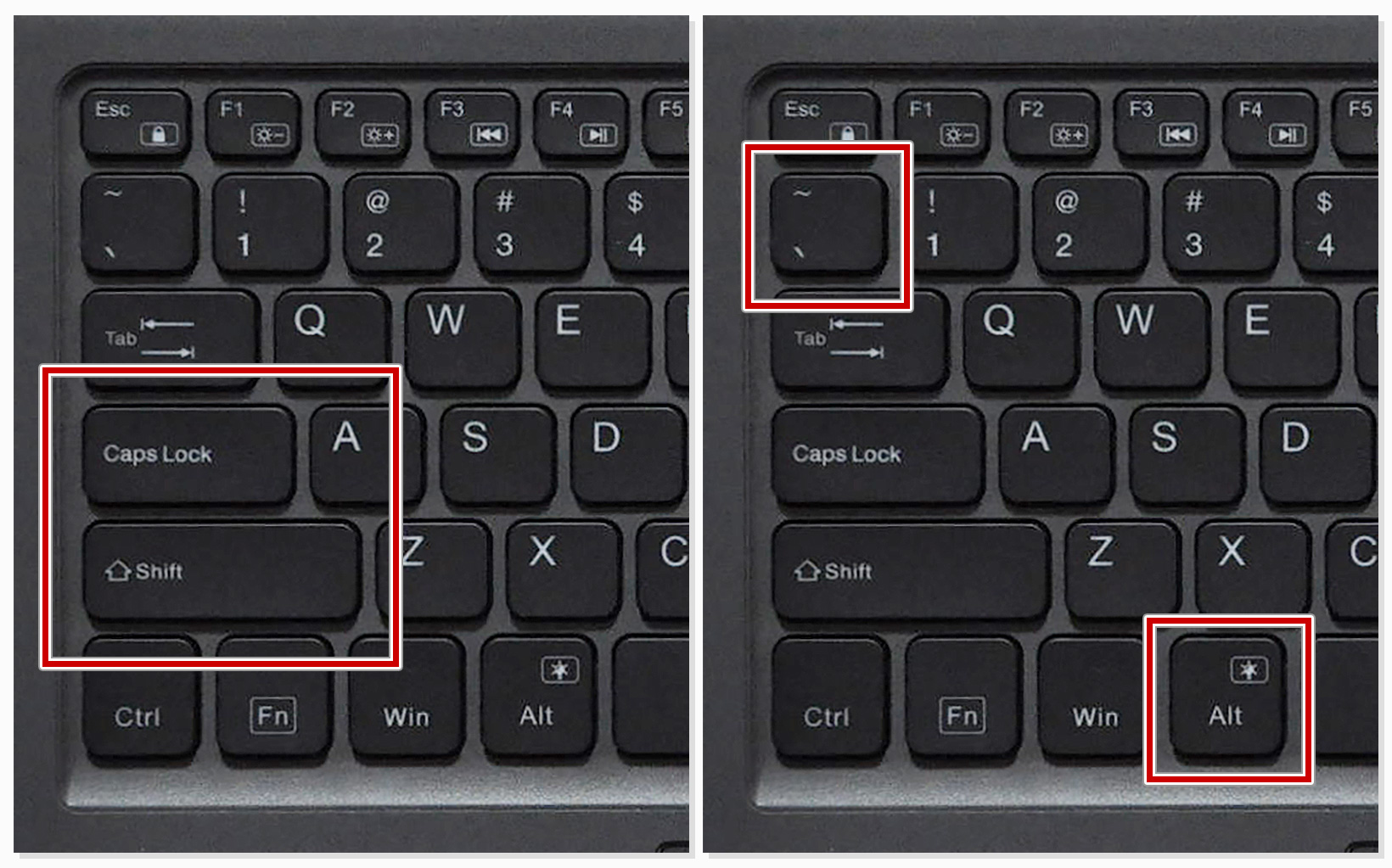 US配列キーボードの半角/全角切り替え