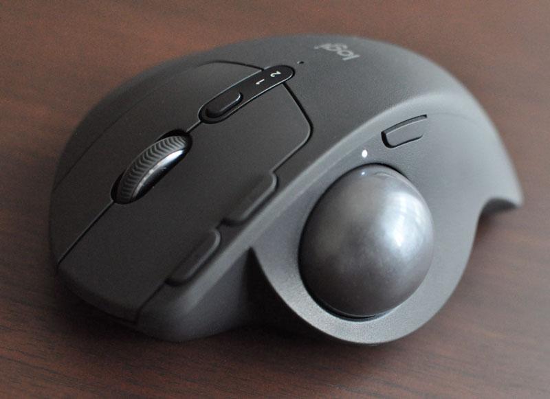 MX ERGOサイドのカーソル速度調節ボタン
