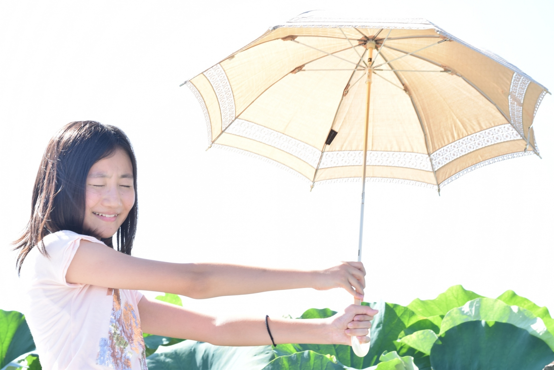 日傘はもちろん運動会の日焼けにも有効