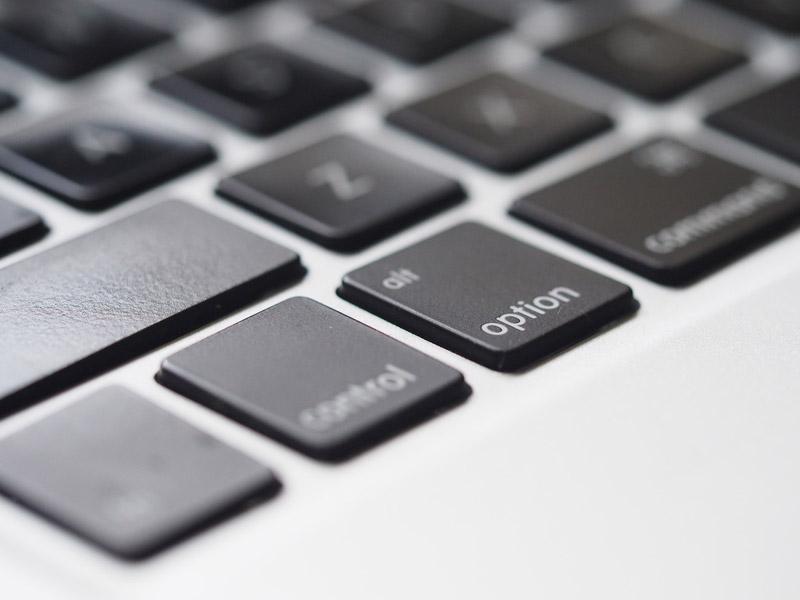 Macのショートカットoptionキーイメージ