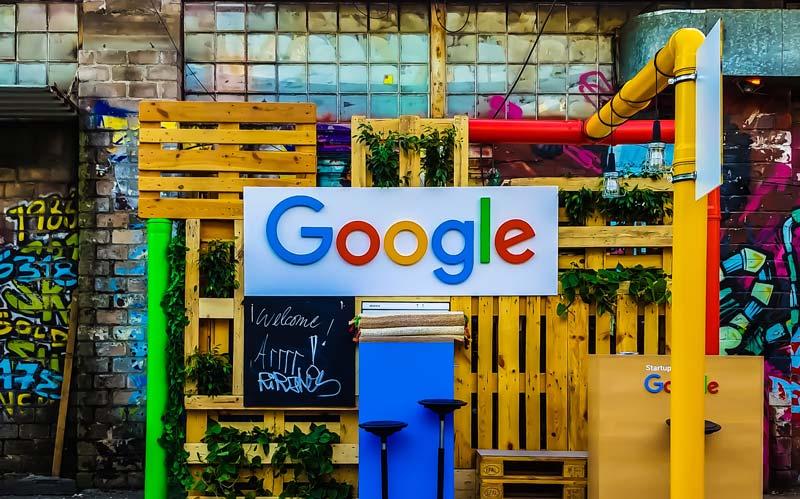 Googleロゴイメージ写真