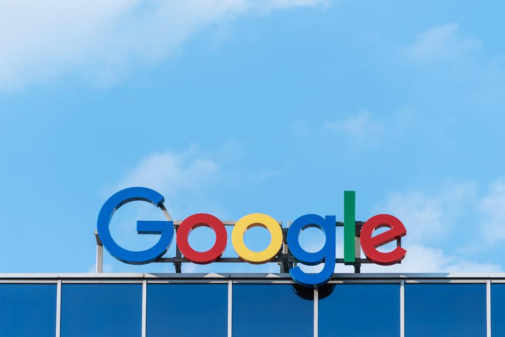 Googleロゴ写真