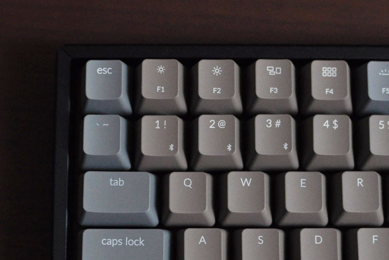 ESCのキートップを変えたバージョン