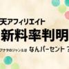 【楽天アフィリエイト新情報!】ジャンルごとの新報酬料率決定